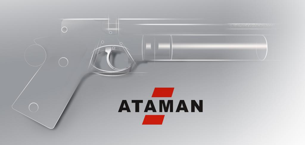 PCP пистолет ATAMAN